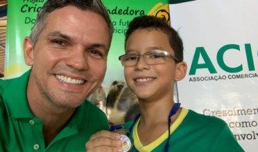 4° ano. 3° lugar: Vitor Gabriel Pereira Alves