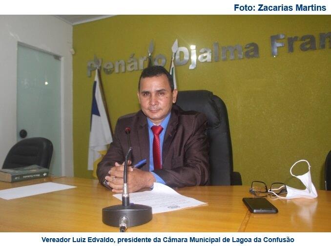 Vereadores de Lagoa da Confusão analisam Projeto de Lei que institui o  Programa de Refis Municipal